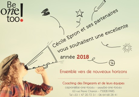 be one too Voeux 2018